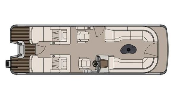 Avalon Catalina Platinum Rear Lounge - 27 ft.