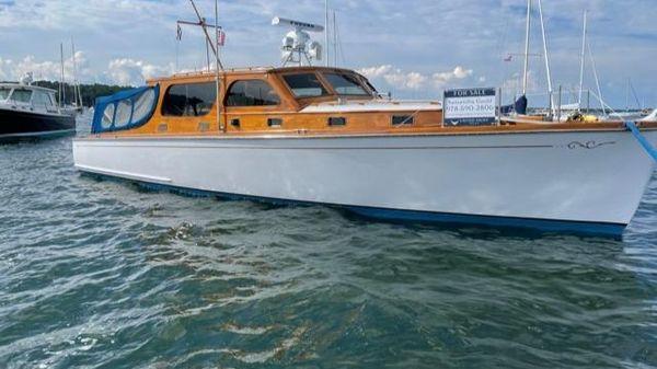 Classic Nevins-built Motoryacht