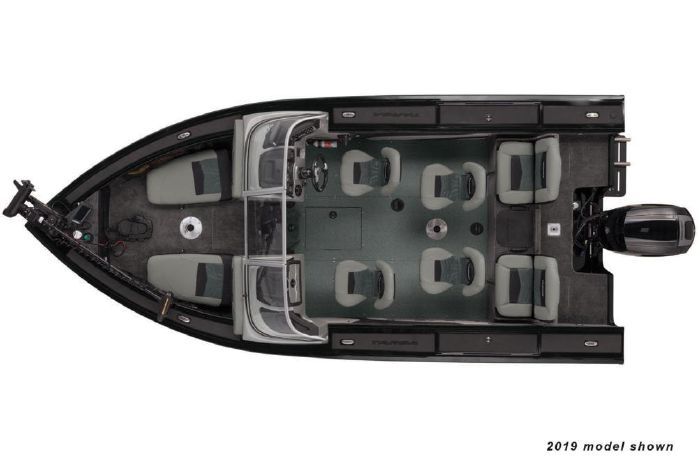 2020 Tracker Targa V-19 Combo Tournament Edition - Bowers Marine