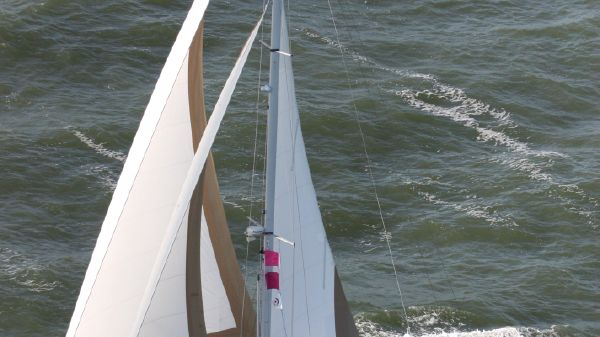 Gozzard 44 Mk 2 Eva Marie in full sail