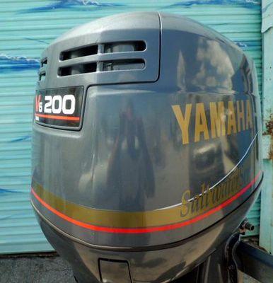 Yamaha 200hp 25