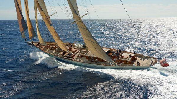 Royal Huisman classic schooner