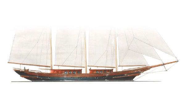 Sailboat 55m Sailing Yacht Hull
