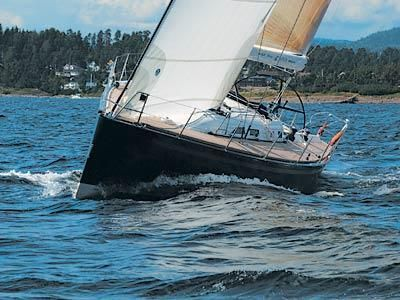 X-Yachts IMX-45 Manufacturer Provided Image: Bow