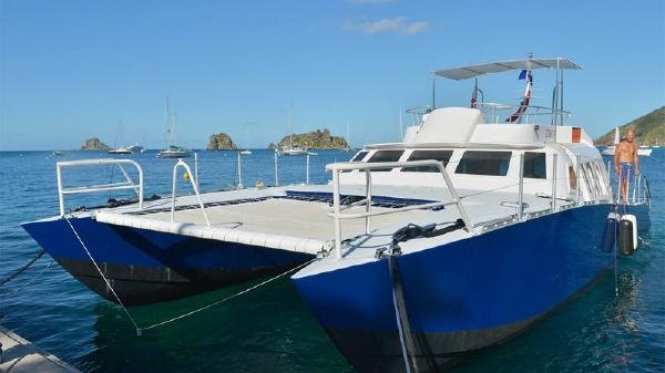 Catamaran Dive Boat 48