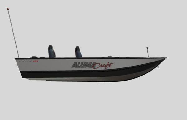 2022 Alumacraft Classic 165 Tiller