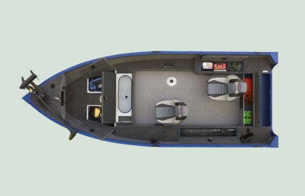 2022 Alumacraft Escape 165 Tiller