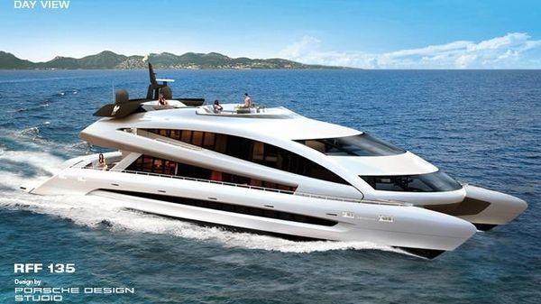 Porsche Design RFF 135 Mega Yacht