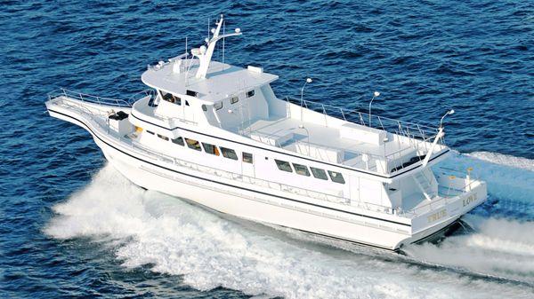 81' Lydia Custom Sportfish