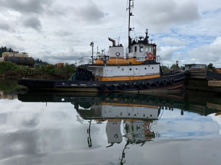Tugboat Converted US Army steel tug image