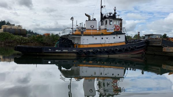 Tugboat Converted US Army steel tug