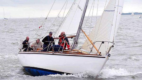 East Anglian 28 Sailing