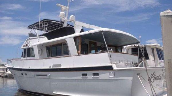 Hatteras 58 Long Range Cruiser