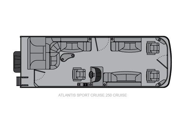 2020 Landau Atlantis 250 Cruise