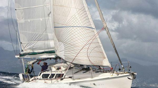 Hunter HC 50 Anastasia Under Sail