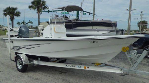 Frontier Boats 180 CC w F115hp Yamaha 4-Stroke EFI Outboard Motor