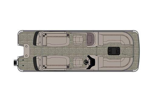 Avalon Excalibur Quad Lounge Windshield - 25' image