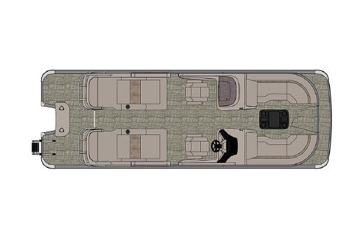 Avalon Excalibur Rear Lounge Windshield - 25' image