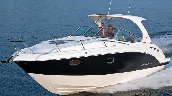 Chaparral 330 Signature Manufacturer Image - Actual Boat White Hull