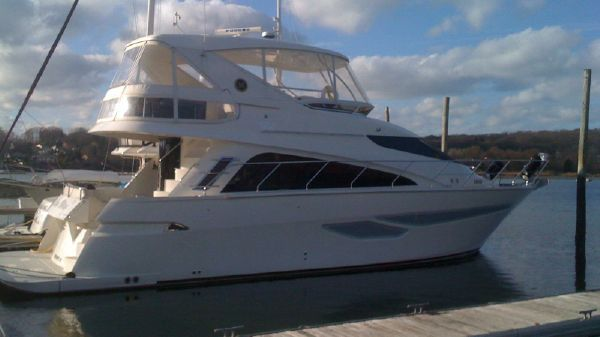 Marquis 50 LS Starboard Side