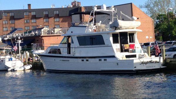 Hatteras 58 Cockpit Motoryacht