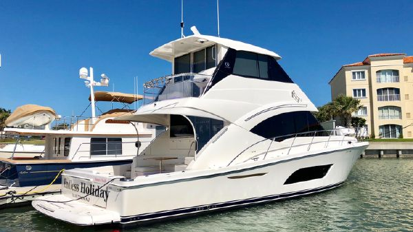 Riviera 57 Enclosed Flybridge- AVAILABLE NOW!