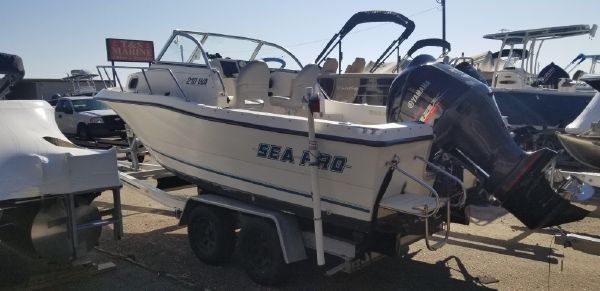 Sea Pro 210 Walk Around image