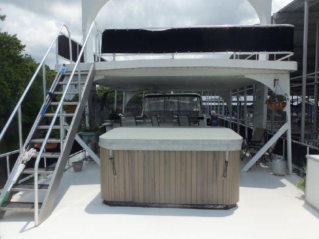 2003 Majestic 90X18 Tri Deck River Cruiser BoatsalesListing Brokerage