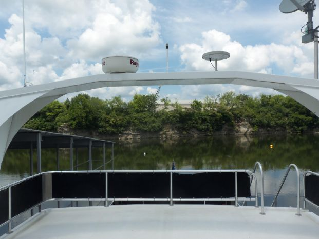 2003 Majestic 90X18 Tri Deck River Cruiser BoatsalesListing Sell