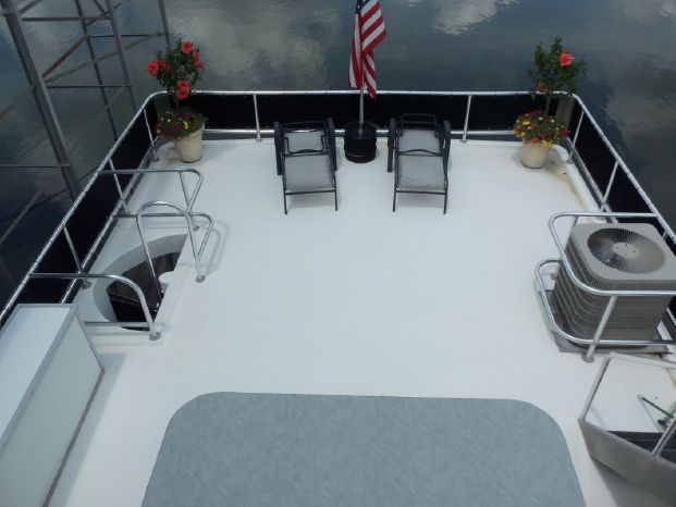 2003 Majestic 90X18 Tri Deck River Cruiser BoatsalesListing BoatsalesListing