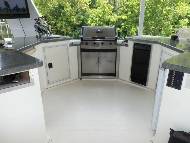 2003 Majestic 90X18 Tri Deck River Cruiser Brokerage Maine