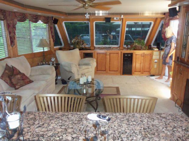 2003 Majestic 90X18 Tri Deck River Cruiser BoatsalesListing Rhode Island