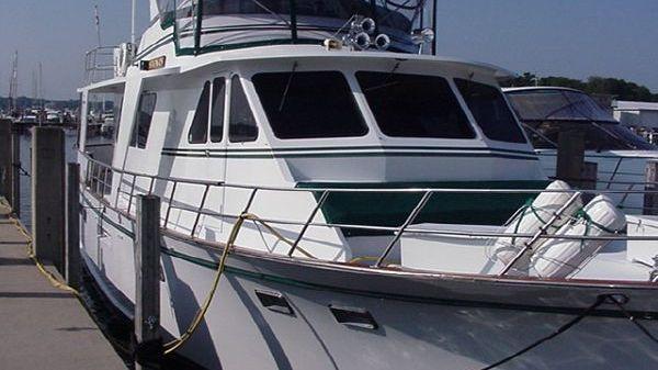 DeFever 53' POC Trawler Exterior