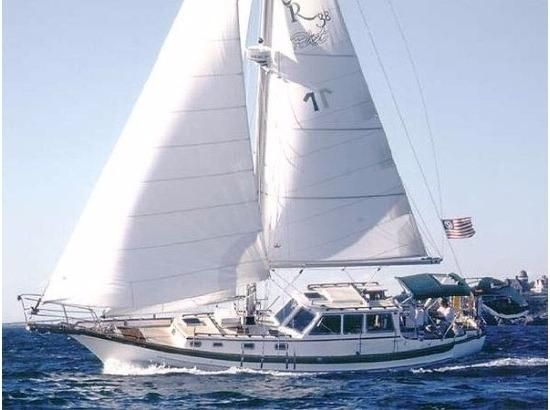 1990 Cabo Rico 38 Pilothouse Cutter