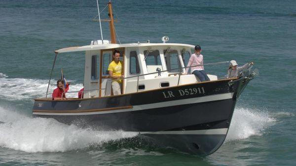 Rhea-Marine 800 Wheelhouse