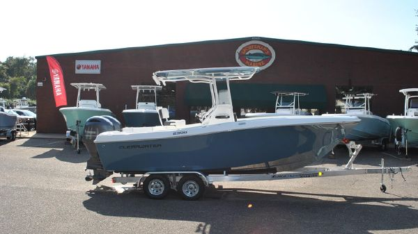 Clearwater 2300CC w/Twin F150's & Trailer