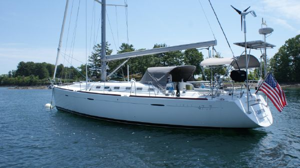 Beneteau First 47.7 On the hook