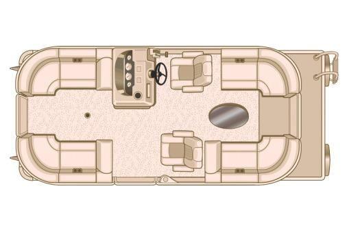 2018 Sylvan Mirage 8520 Cruise LZ