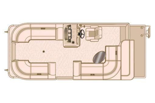 2018 Sylvan Mirage 8522 Cruise