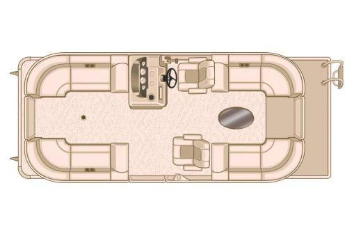 2018 Sylvan Mirage Cruise 8522 LZ