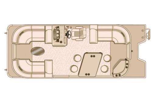2018 Sylvan Mirage Cruise 8522 LZ PB