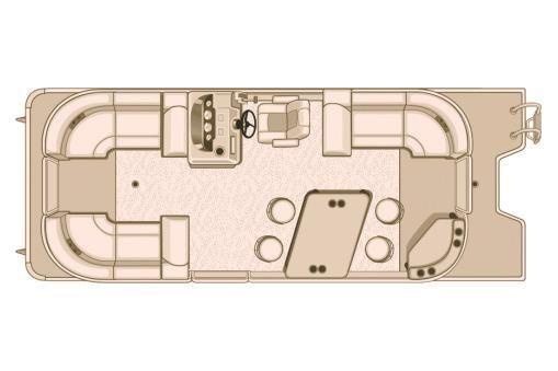 2018 Sylvan Mirage Cruise 8524 LZ PB