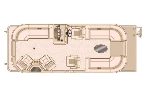 2018 Sylvan Mirage Cruise 8524 LZ Port