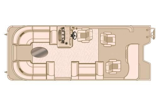 2017 Sylvan Mirage Cruise 8522 Ent. LE
