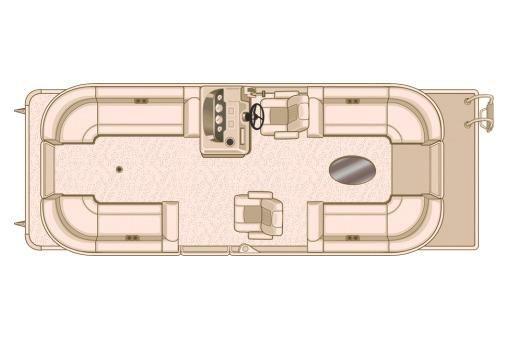 2018 Sylvan Mirage Cruise 8524 LZ LE