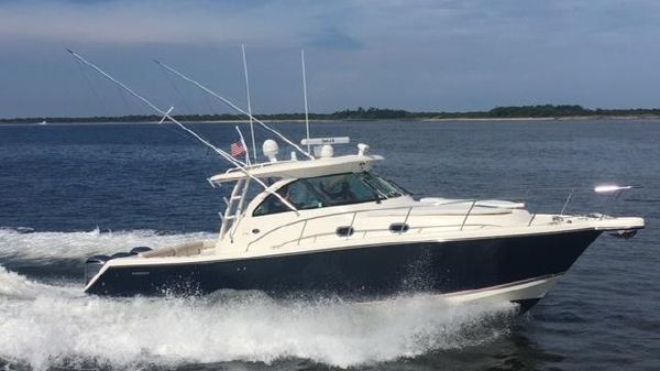 Pursuit 375 Repowered 300's