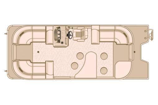 2017 Sylvan Mirage Cruise 8524 LZ PB LE