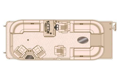 2018 Sylvan Mirage Cruise 8524 LZ Port LE