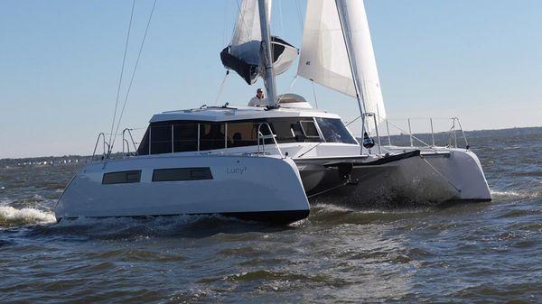 Alpha 42 Lucy 2 Under Sail