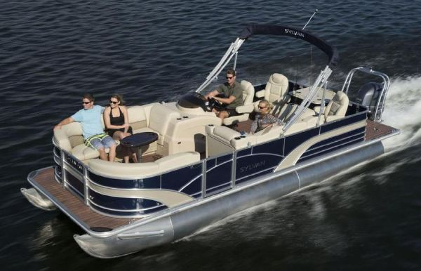 2017 Sylvan Mirage Fish 8522 Party Fish LE